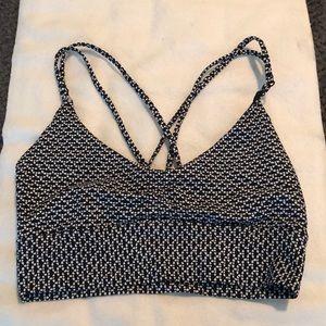 NWOT Lululemon bikini top